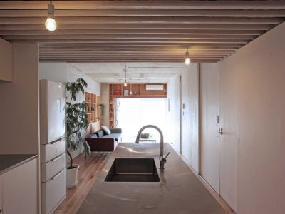 「Tsudou Design Studio(ツドウデザインスタジオ)」のマンションリノベーション事例「既存を活かした無駄のない住まい。つながりが生むゆとりの空間」
