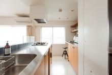 キッチン、キッチン収納、IKEA、カウンターキッチン、スタディスペース、ワークスペース、リノベーション、エコデコ