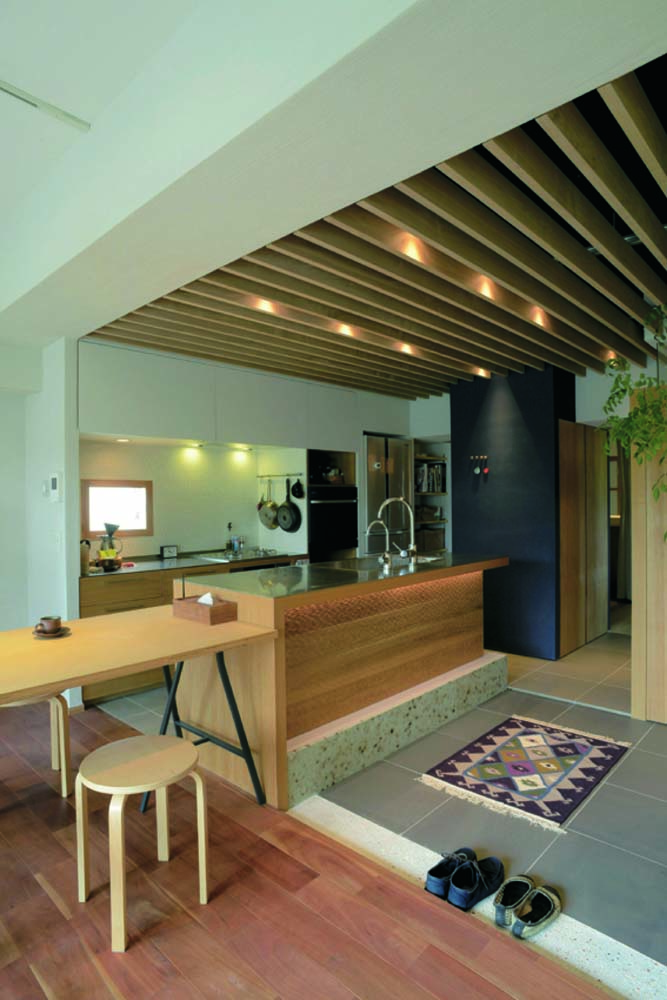 ハンズデザイン一級建築士事務所、リノベーション、仕切らない間取り、ワンルーム、収納
