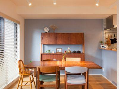 「インテリックス空間設計」のマンションリノベーション事例「立地・間取りとも暮らしやすさを大切に コストを抑えつつ、こだわりポイントが光る。」