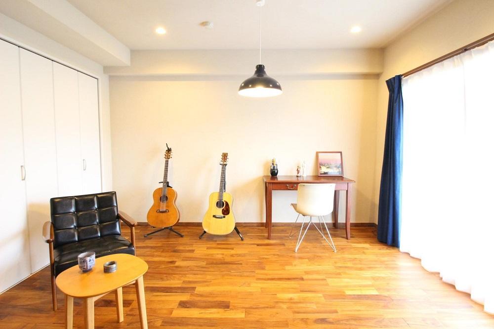 「湘南リフォーム」のリノベーション事例「自然素材に囲まれて、心地よく趣味を楽しむ家。」