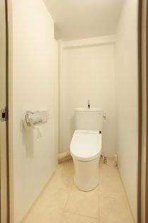 トイレ、壁、シンプルリノベーション、マンション、水工房