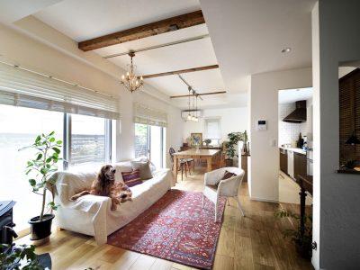 「スタイル工房」の戸建リノベーション事例「自然素材に包まれた広くて美しい家で、家族も愛犬も幸せに♪」