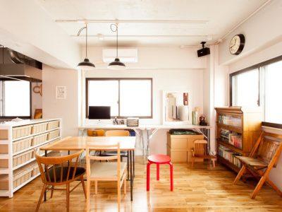 「EcoDeco」のマンションリノベーション事例「人間と4匹の猫たちがストレスフリーに住まう家」