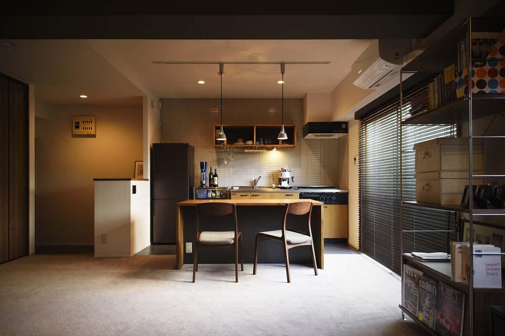 海外のホテルをイメージした、一人暮らしのゆったりワンルーム