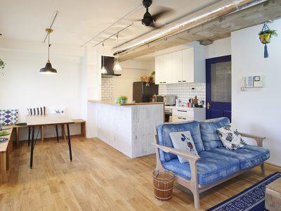 「Renomama (リノまま) 」のマンションリノベーション事例「ライフプランニングで賢くリノベ 憧れの西海岸スタイルで設えた住まいへ」