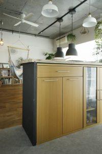 M・DESIGN カウンター キッチン DIY 手作り、リノベーション