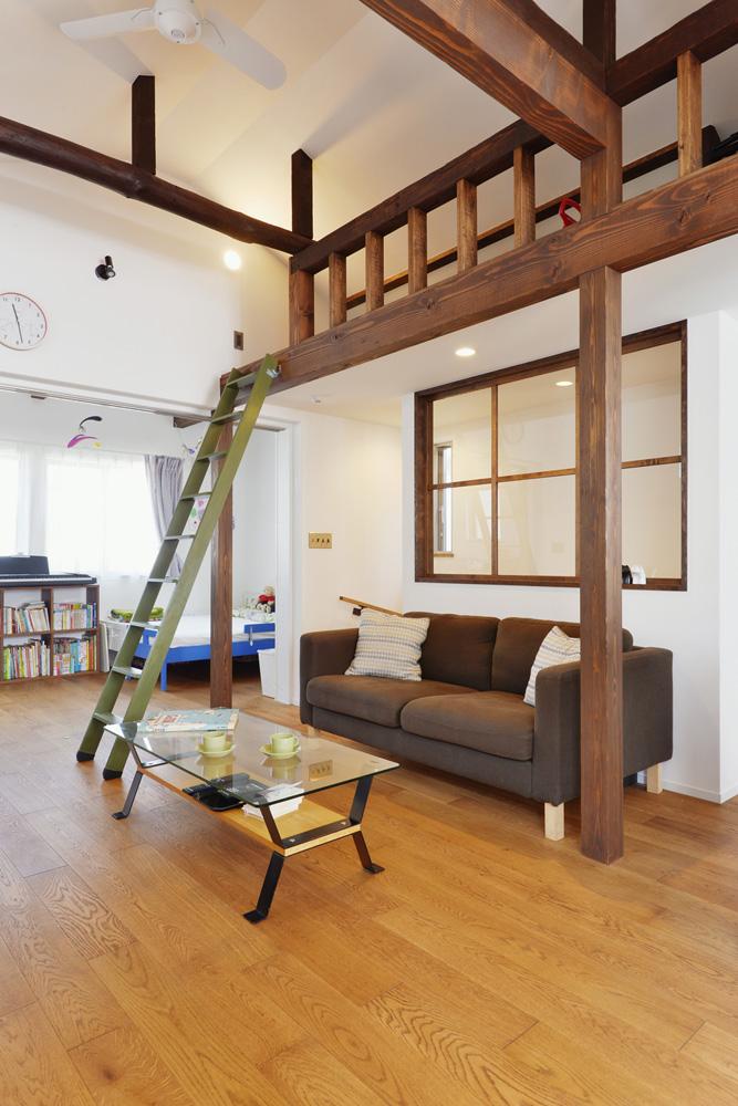 小屋裏、収納、ロフト、戸建て、リノベーション、スタイル工房