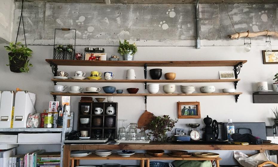 リノベーション、、DIY、躯体現し、リノまま、キッチン収納、オープン収納