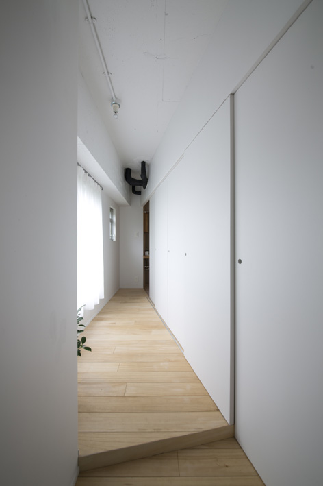 リノベーション、青木律典、デザインライフ設計室、狭小住宅、表参道リノベーション、40㎡未満