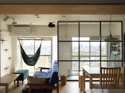 「株式会社エキップ」のマンションリノベーション事例「眺望の良さと暮らしやすさが魅力。インナーテラスのある家」