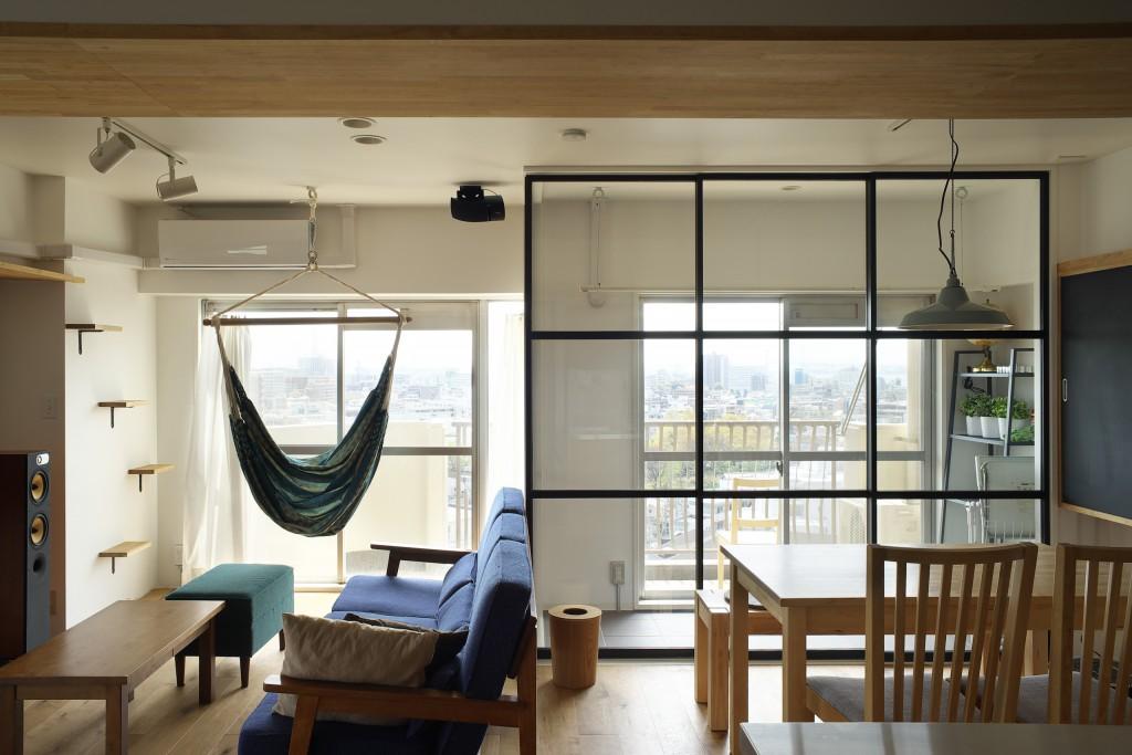 「株式会社エキップ」のリノベーション事例「眺望の良さと暮らしやすさが魅力。インナーテラスのある家」