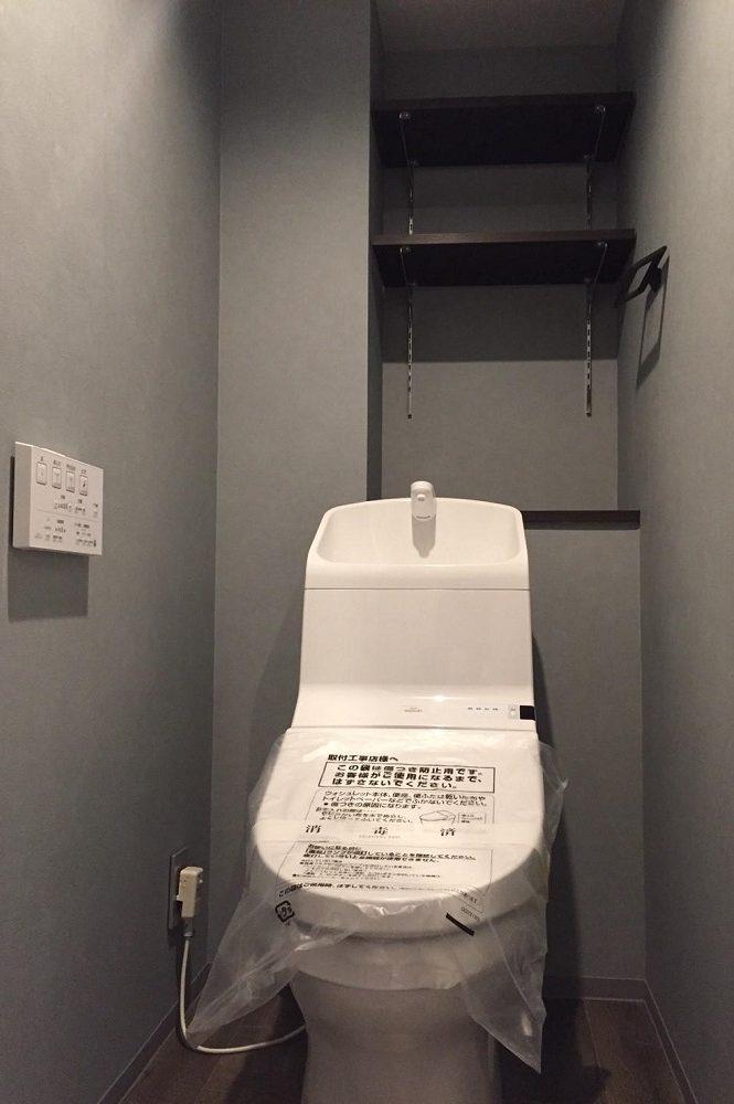 リノベ不動産 トイレ 手洗い一体