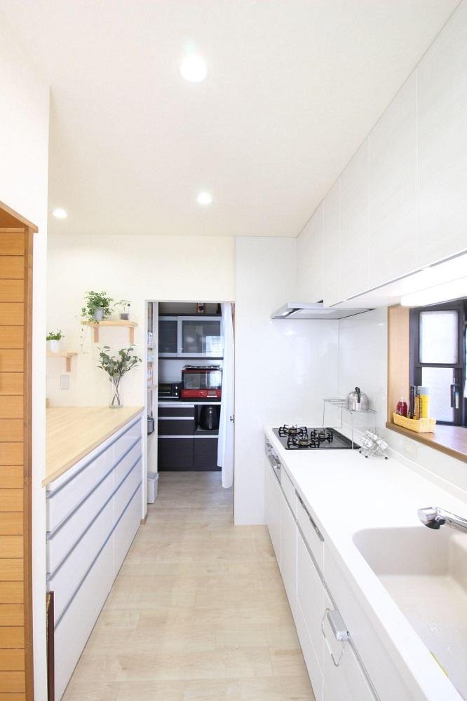 湘南リフォーム キッチン オリジナル家具 二世帯