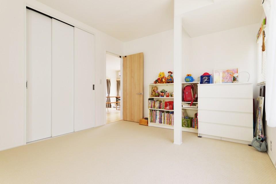 夢工房、無垢材、ウッドワン、シンプル、子ども部屋、子供部屋、