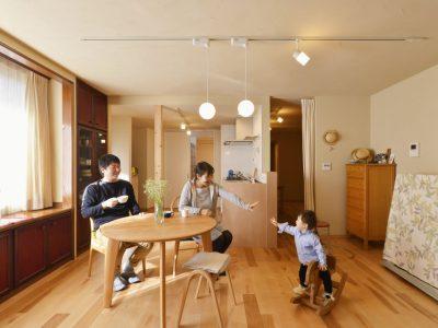 「株式会社 夢工房」の戸建リノベーション事例「自然素材でアレルギーも解消。おばあさまの残した「くつろぎの家」」