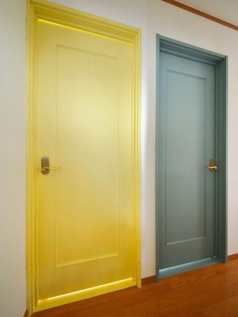ドア、塗装、建具、既存使用、リノベーション、戸建て、スタイル工房