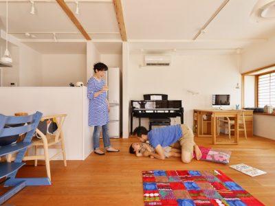 「株式会社 夢工房」の戸建リノベーション事例「北欧インテリアが映える、和のぬくもりを生かした木造住宅リノベーション」