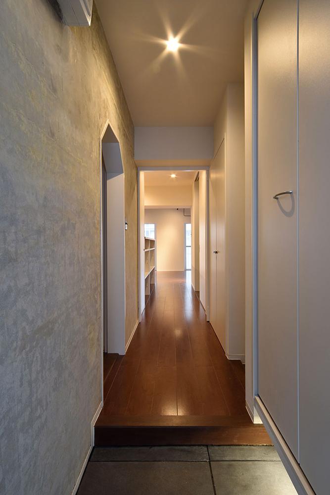 リノベーション、マンションリノベーション、Re-CRAFT、玄関、廊下