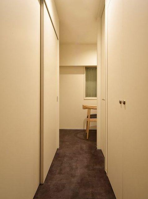 リノベーション、マンションリノベーション、Re-CRAFT、廊下収納、収納、洋室
