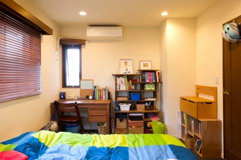 リノベ―ション、スタイル工房、子ども部屋、洋室、珪藻土、DIY、サイザル麻、ベルギー産、床、自然素材