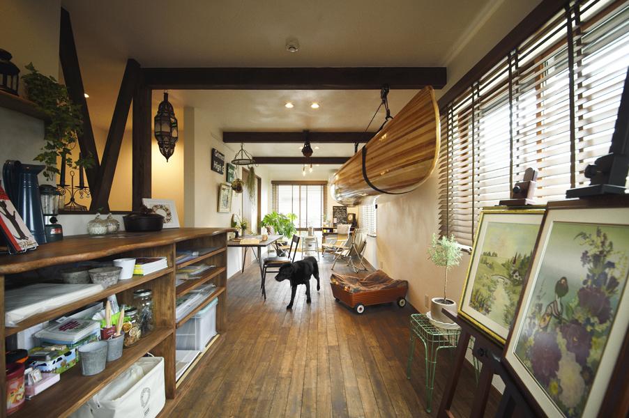 LOHAS studio、リノベーション、ヴィンテージ、愛犬