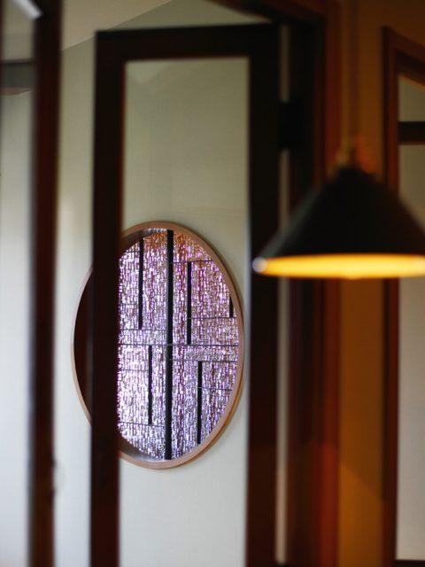 リノベーション、戸建てリノベーション、古民家リノベーション、三井のリフォーム、三井不動産リフォーム、実家リノベーション、アイアン、ガラス、丸窓、デザイン窓