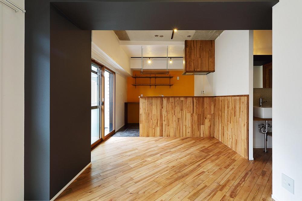 「リノベ不動産|Three Eight」のリノベーション事例「メリハリある日常を投影した、気持ちよく過ごせる家」