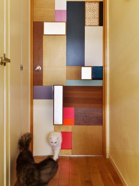 リノベーション、スタイル工房、猫、猫ドア、猫扉、オリジナルドア
