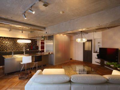 「たすかけ 吉祥寺ラボ」のマンションリノベーション事例「住まう人の美意識そのままに、スタイリッシュリノベーション」