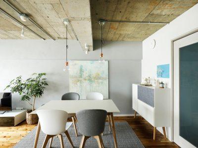 「インテリックス空間設計」のマンションリノベーション事例「極上の「ヒュッゲ」を感じる、透明感のあるインテリア×リノベーション」