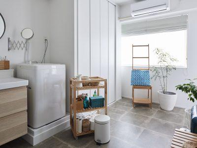 「リノベの最新情報」の「洗面台+ランドリーは広く快適に 心地よい暮らしのカギはここにありました《リノベのトレンドvol.29》」