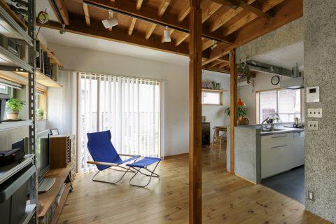 戸建てリノベ、スタイル工房、リノベーション、松、無垢板、ワトコオイル、DIY、自然素材