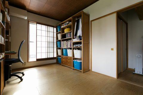 戸建てリノベ、スタイル工房、リノベーション、子供部屋、構造用合板、コスト調整、おもちゃ収納