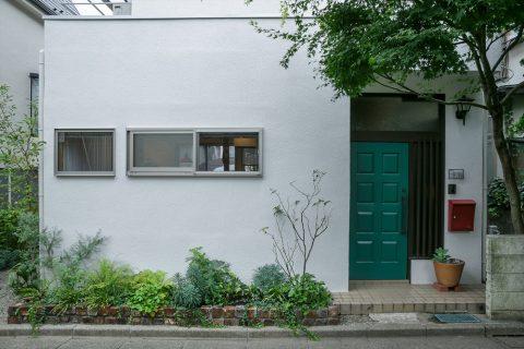 戸建てリノベ、スタイル工房、リノベーション、玄関、玄関ドア、玄関は既存のまま、レトロ、耐震補強