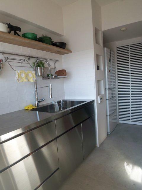 キッチン、ニッチ棚、パントリー、2型、アイランド、収納