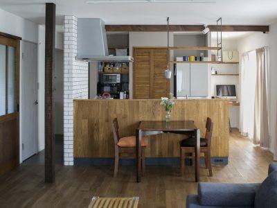 「スタイル工房」の戸建リノベーション事例「家事ラク&リラックス! 朝の身支度から食事や団らんも全部2階で。」
