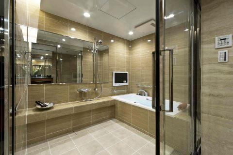 マンションリノベーション、リノベーション東京、ホテルライク浴室、バリアフリー浴室、ニッコー浴室