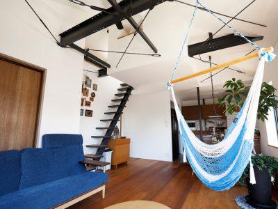 「スタイル工房」の戸建リノベーション事例「ビーチハウスや和モダンハウスを彷彿とさせる、理想的な二世帯住宅」
