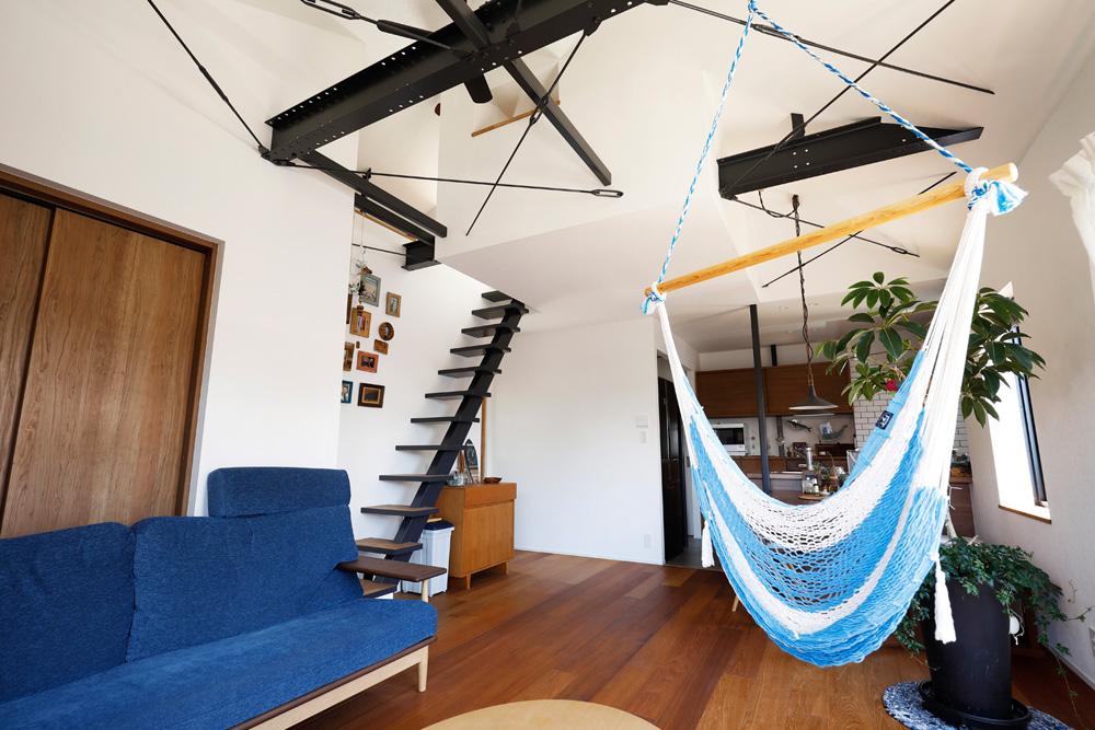 「スタイル工房」のリノベーション事例「ビーチハウスや和モダンハウスを彷彿とさせる、理想的な二世帯住宅」