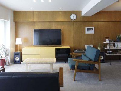 「東京リノベ」のリノベーション事例「ヴィンテージの薫り漂う、ホテルライクな大人のマンションリノベ」