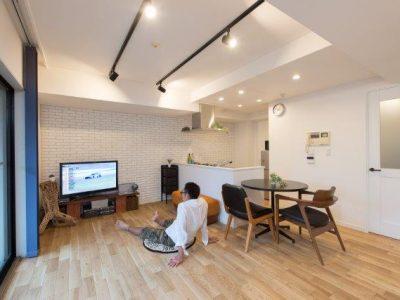 「野村不動産リフォーム」のリノベーション事例「目指したのは「モダンブルックリン」。カフェのようにおしゃれでくつろげるマイホーム」
