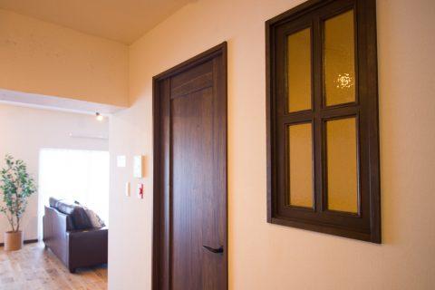 マンションリノベーション、リノデュース、室内窓、廊下窓、ベリティス