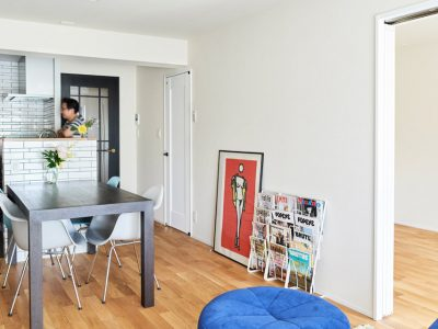「インテリックス空間設計」のマンションリノベーション事例「「リノベーションって大変!」イメージを一蹴してくれた建築士と出会って。」