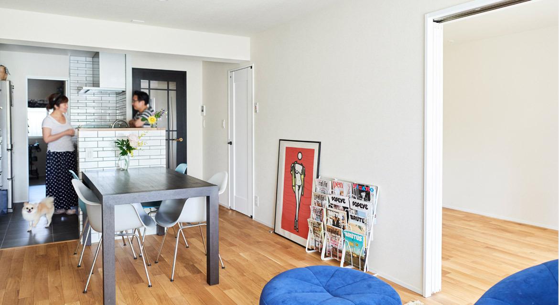 「インテリックス空間設計」のリノベーション事例「「リノベーションって大変!」イメージを一蹴してくれた建築士と出会って。」
