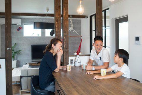 三井のリフォーム、三井不動産リフォーム、リノベーション、戸建リノベ、2世帯リノベ、2世帯住宅、DIY、家族が集まるリビング