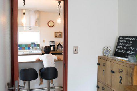 三井のリフォーム、三井不動産リフォーム、リノベーション、戸建リノベ、2世帯リノベ、2世帯住宅、DIY、カウンターテーブル