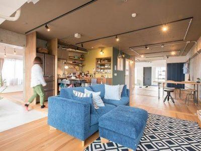 「ゼロリノベ」のマンションリノベーション事例「暮らしを大きく変化させた、贅沢なワンルームリノベーション」