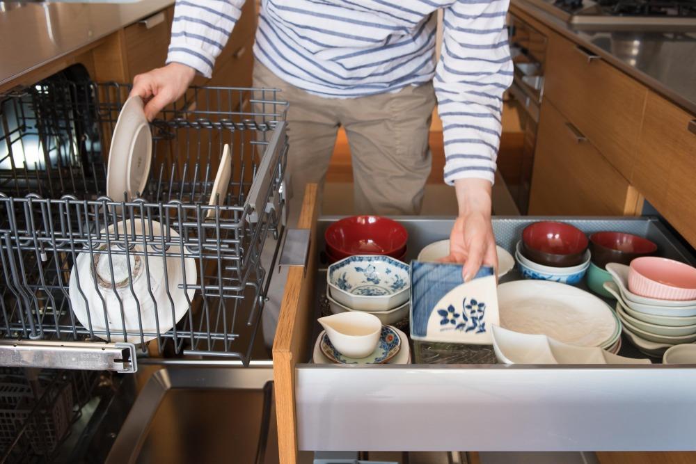 マンションリノベーション,ハンズデザイン一級建築士事務所,キッチン,食洗器,収納