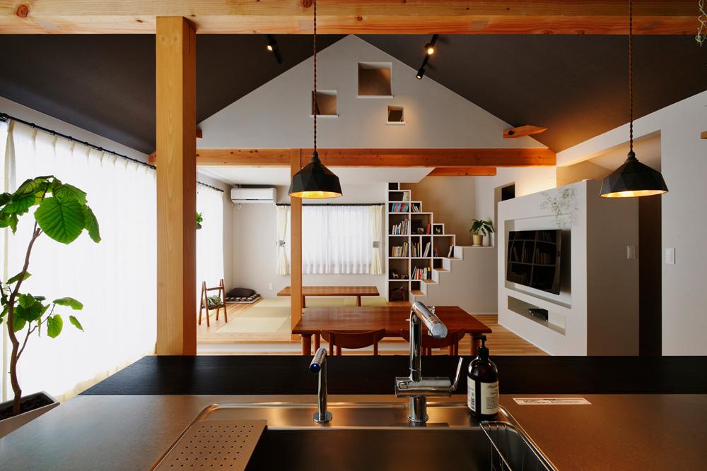 「スタイル工房」の戸建リノベーション事例「家族のこだわりとプランナーの提案で、遊び心いっぱいの2階LDK!」